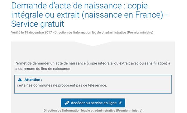 Demandes Etat Civil En Ligne Ville De Nanterre