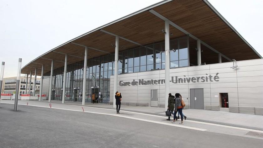 La nouvelle gare universit ville de nanterre - Piscine nanterre universite ...