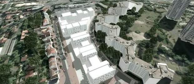 Centre commercial du chemin de l 39 le ville de nanterre - Quartier chemin de l ile nanterre ...